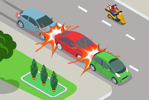 Who Is At Fault In a Multi-Car Accident?
